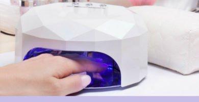 Maquina secadora de uñas