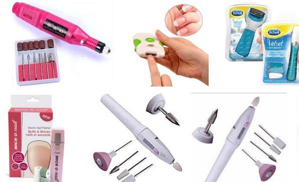 Lima electrica para uñas