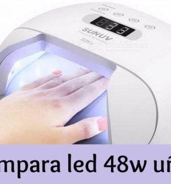 Lampara led 48w uñas